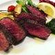 お肉は足柄牛、山百合豚、仔羊肉、仔牛肉などステーキ有