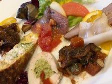南イタリアの前菜盛り合わせ