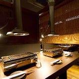 【テーブル半個室/6名様まで】ご友人との集まり・接待など幅広く利用可能