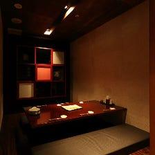 限定個室☆二つのプライベート空間