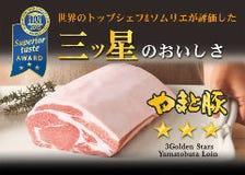 """iTQi三ツ星""""やまと豚ロース肉"""""""