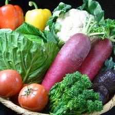こだわりのたくさんの野菜達