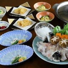 治兵衛伝統のふぐ料理を多様にご用意