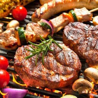 シュラスコ& BBQ ビアガーデン 天空テラス 新宿店 コースの画像