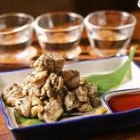 名物『霧島鶏』を使用した料理は、どれもジューシーな味わい。