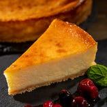 ホワイトチョコのニューヨークチーズケーキ