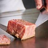 神戸牛など厳選食材を使用し、豪華食材の旨みを最大限引き出す。