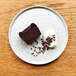 店名にもなっているチョコレイトバーは自慢の一品!