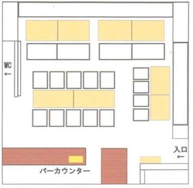 レストランテ デイズ 本町 店内の画像