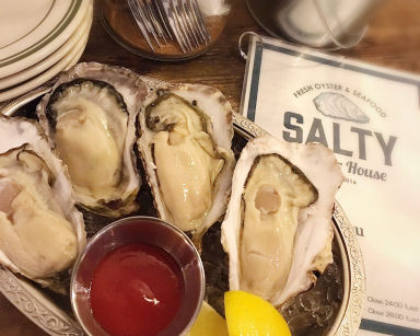 SALTY ソルティ Oyster House  メニューの画像