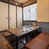 【3F半個室 掘りごたつ席】少人数の宴会に最適な席|7名様×1部屋