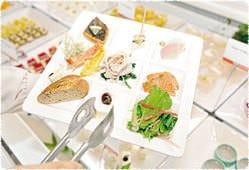 旬の地場産野菜のサラダバー