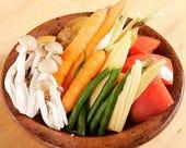 釜焼き野菜のバーニャカウダー