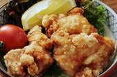 鶏の唐揚げゴマソース