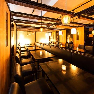 熟成肉と肉寿司ダイニング minehachiミネハチ 新橋本店 店内の画像