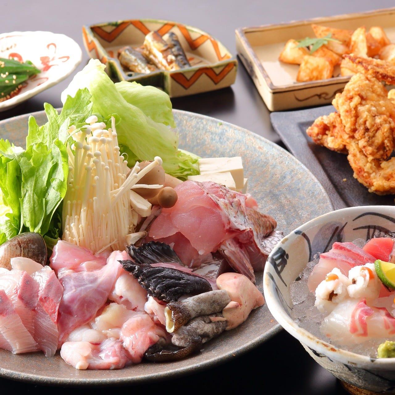 あんこう・鰤・牡蠣蛤入り贅沢漁師鍋