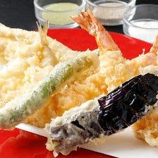 伝統の技で仕上げる名代の天ぷら