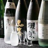 月替わりで、おすすめの日本酒をご用意しています☆