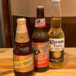 メキシコビールも取り揃えてます!