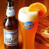 すべてがナチュラルなクラフトビール「BLUE MOON(ドラフト)」