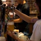 アメリカ産のクラフトビールを多数揃えております。