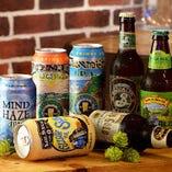 クラフトビールの本場アメリカより厳選したものを独自ルートで取り寄せております。