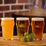 本場アメリカのクラフトビールを飲み比べ♪