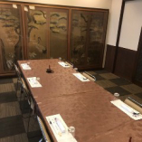 【2階 宴会場】大切なお食事会などにもおすすめのテーブル席