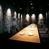 大人の隠れ家的空間 少人数~10名以上の完全個室有