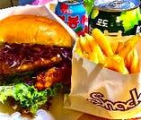 韓国フライドチキンバーガー『クリスプチキンサンドセット』