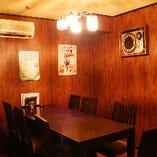 個室(10名様まで利用可能)