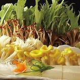 野菜ときのこ盛り合わせ
