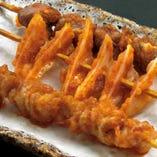 モンゴル風串焼き3種盛り合わせ