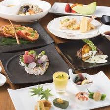 旬の食材を使用した和食コース