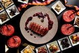 ■自慢のお料理 専属シェフが腕を振るう厳選食材の本格コース