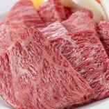 【上ロース】 肉汁がしたたる脂の旨味もたまらない逸品です