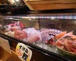 本まぐろや希少部位、新鮮な魚がズラリ!!