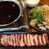 埼玉のブランド鴨「武州鴨」のすき鍋、ねぎま焼きは絶品です!