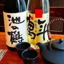 利き酒師店長のおすすめ日本酒、焼酎