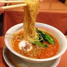辛さお好み、担々麺、スーラー湯麺