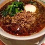 当店人気の『黒胡麻担々麺』も濃厚なお味☆ぜひお試しください。