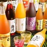 梅酒は全20種類以上!!飲み放題メニューでもお楽しみ頂けます♪