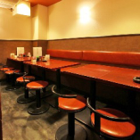 テーブル席は最大16名様までの尾宴会に対応いたします♪