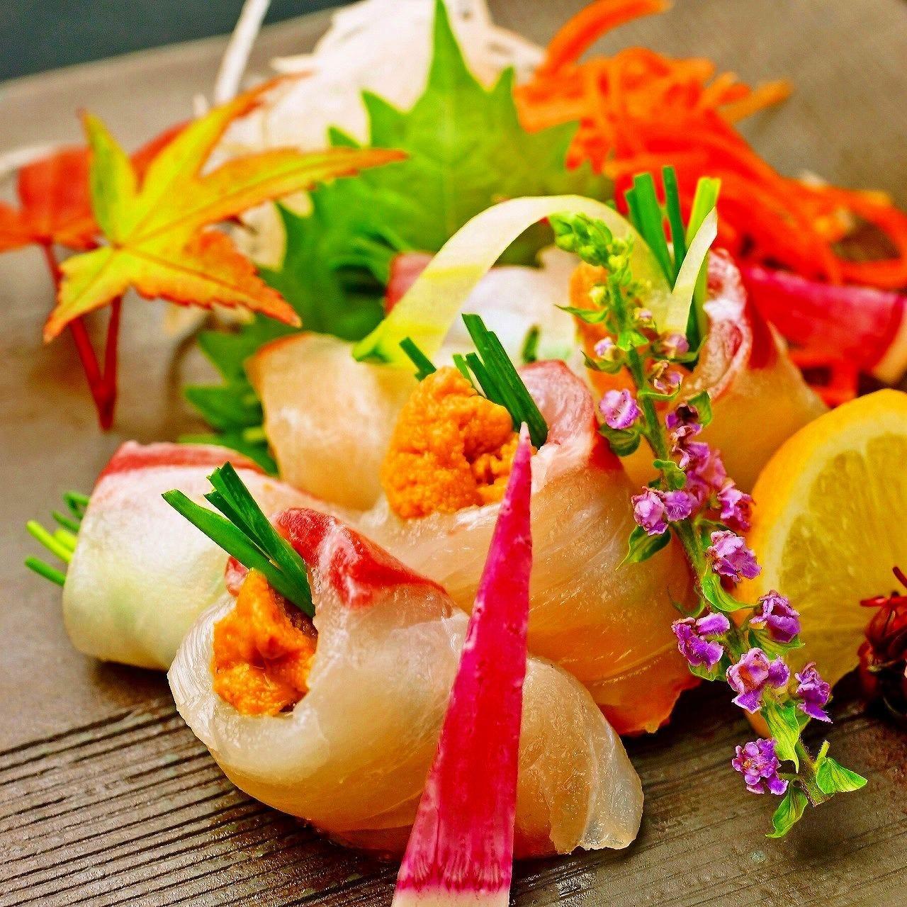 海鮮と寿司とブランド肉料理が充実