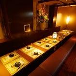 【和のやすらぎ個室】10~20名様個室でゆったり♪各種宴会におすすめの掘りごたつ