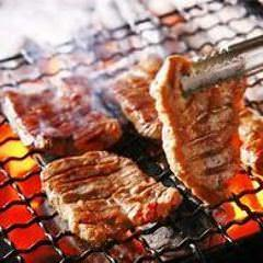 牛タンと九条葱の炙り焼き