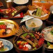【先斗町懐石】子持ち鮎・名残り鱧・松茸等の旬菜旬魚を使った懐石料理!