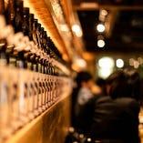 全国から取り寄せる日本酒は60種類以上。「黒龍」など希少酒も◎