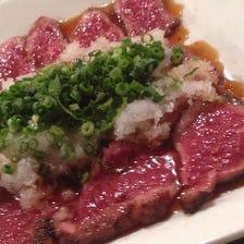 豊富な品揃え★こだわりの肉料理!!
