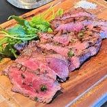 【ラポルタ名物】牛肉のグリル タリアータ